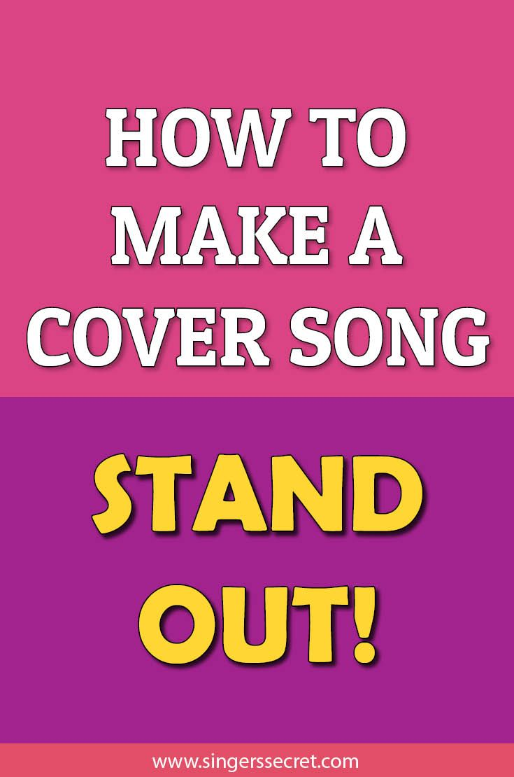 Uploading covers to YouTube or performing in a covers band? Here's how to make your cover songs stand out from the crowd http://singerssecret.com/how-to-make-a-cover-song-stand-out/ #singing #singingtips