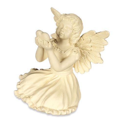 The February Mini Angel Keepsake is made from high quality polystone. This darling mini angel represents the feeling of love and friendship that comes with the month of February. Create an inspirational gift or beautiful tribute for that special someone with this charming mini angel keepsake.