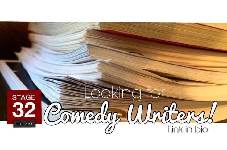 Comedy writer wanted