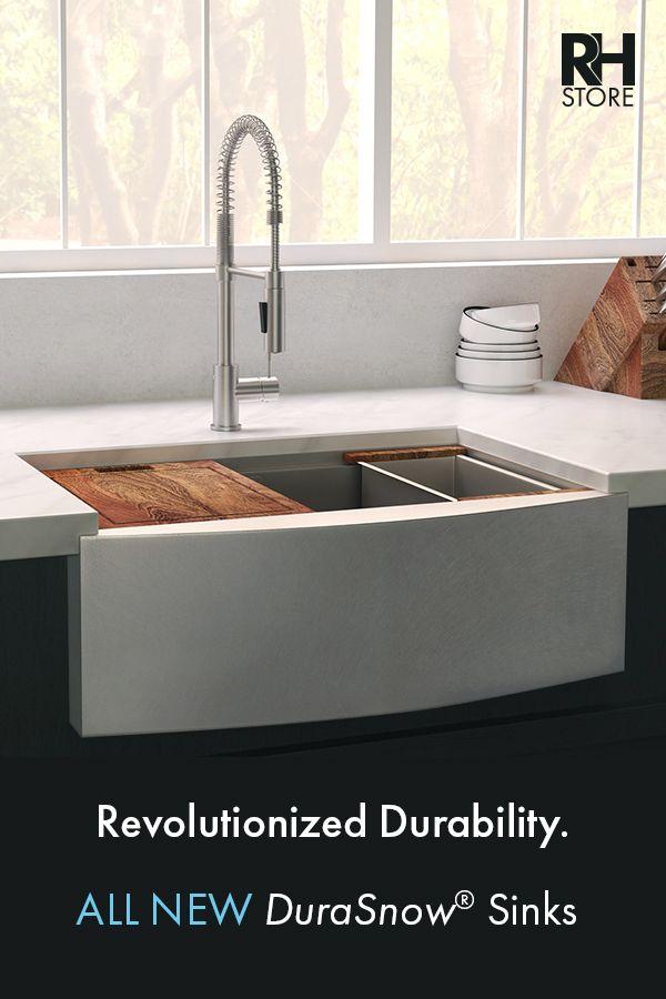 Durasnow Stainless Steel Sinks In 2020 Tuscan Kitchen Design