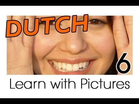 Learn Dutch Vocabulary with Pictures - Facial Features