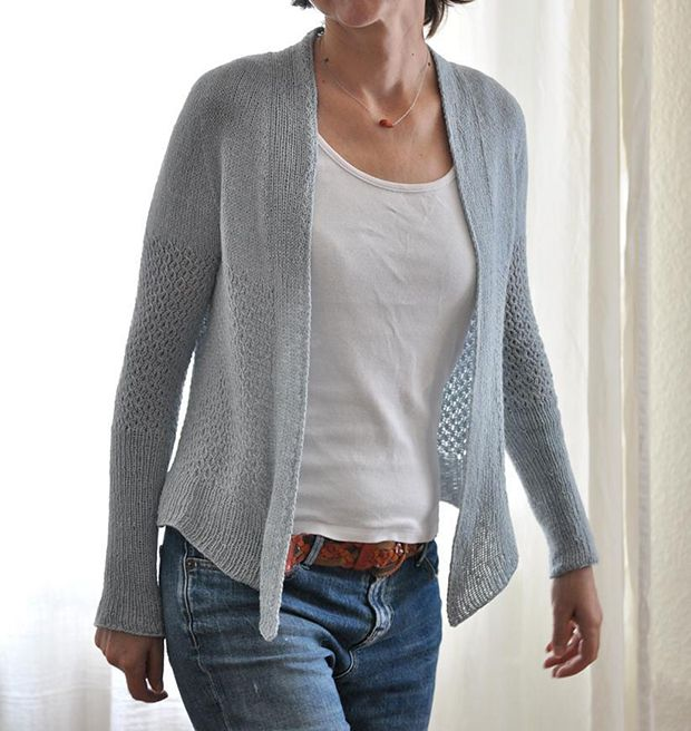 Lightweight knitting patterns: Whippet by ANKESTRiCK, download on LoveKnitting