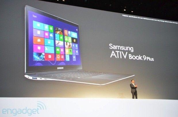 Samsung announces ATIV Book 9 Plus Ultrabook and the ATIV Book 9 Lite