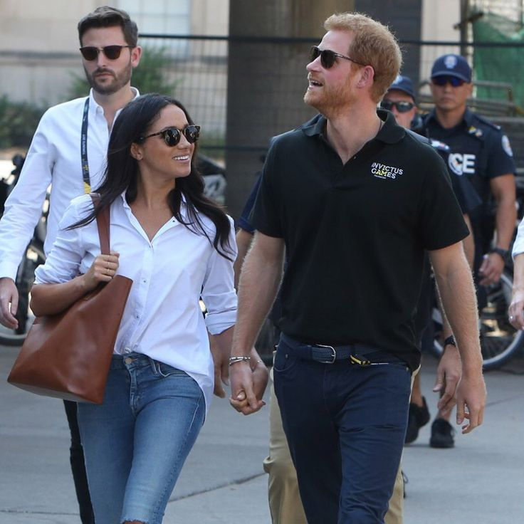 Royal couple debut! Prince Harry and Meghan Markle stepped out hand-in-hand at the Invictus Games #love #wmbw #bwwm #swirl #biracial #mixed #lovingday #relationshipgoals