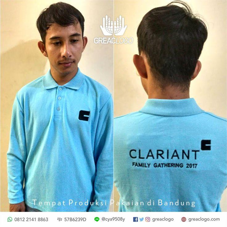 Polo Clariant Family Gathering/  Konveksi Bandung / 0812 2141 8863 / BB : 57B6239D / LINE @cya9508y
