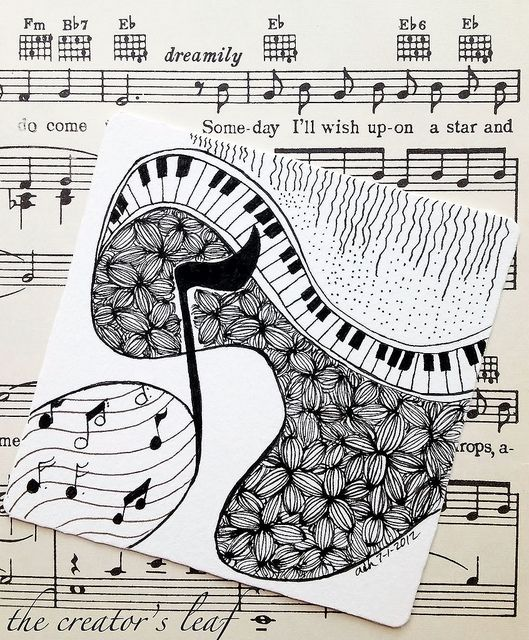 121 best images about Musical Instrument Art on Pinterest