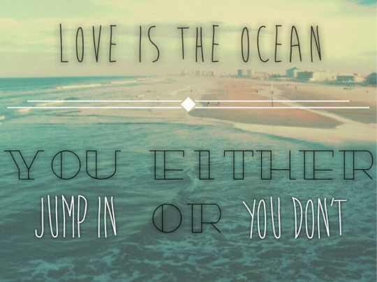 parachute lyrics | love is the ocean