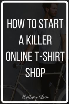 Dropshipping fulfillment and on-demand t-shirt printing services help you create a passive income by putting your designs and art on shirts. Learn how to find dropshippers and printers here: http://www.brittanyolson.com/blog/how-to-start-a-killer-online-t