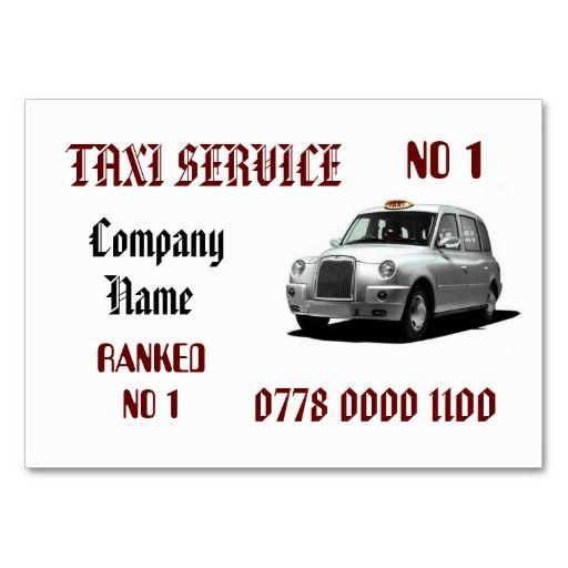 Mejores 301 imágenes de Taxi Business Card Templates en Pinterest ...