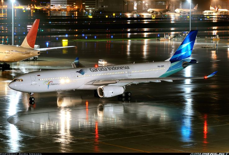 Proud Indonesian. Garuda Indonesia Airlines. A332 parked at Haneda Airport