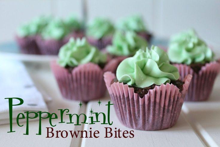 Threadbare Creations- Peppermint Brownie Bites Recipe