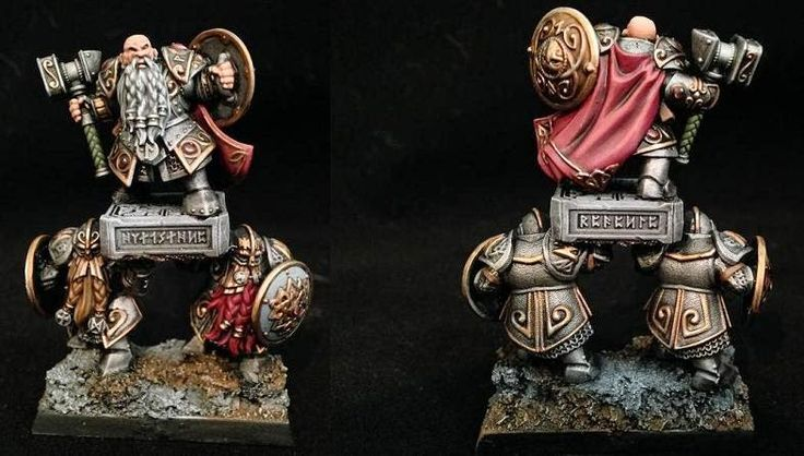 The Battle Tavern: A Wargaming Miniature Blog: Warhammer Fantasy: Dwarfs complete!