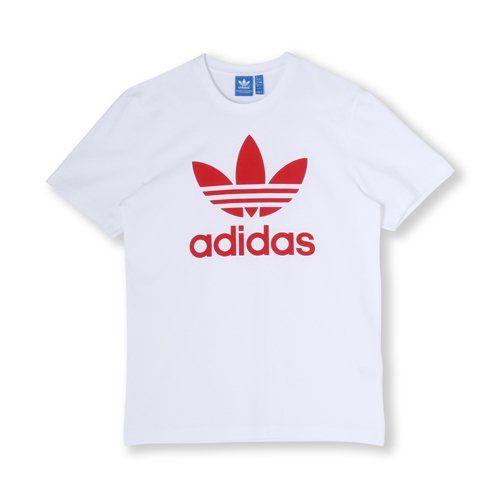 adidas(アディダス)通販オンラインショップ。トップス 半袖 SHORT SLEEVE TOPS Apparel 【adicolor】オリジナルス ロゴTシャツ [ORIGINAL TREFOIL TEE] ウェア アパレル Tシャツ ポロシャツなど公式サイトならではの幅広い品揃えが魅力。