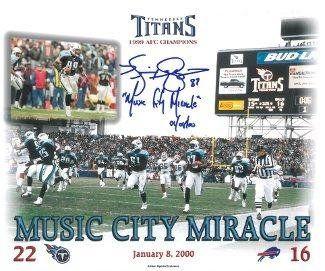 Autographed Kevin Dyson Photo – Music City Miracle 8×10 w – Autographed NFL Photos