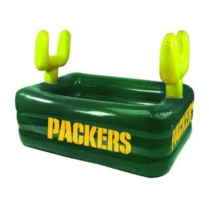 Green Bay Packers Inflatable Field Pool - tempted....
