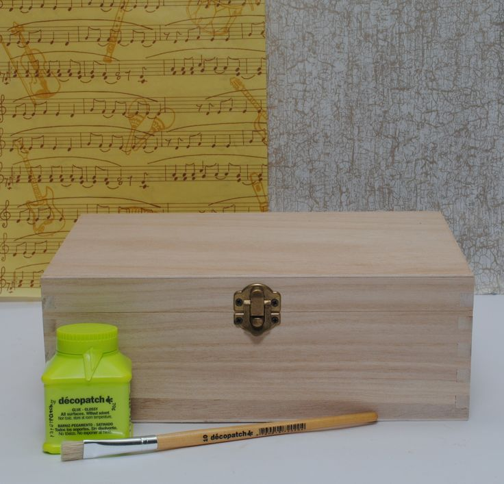 Decopatch this box to make the perfect gift for someone special www.decopatchdirect.co.uk