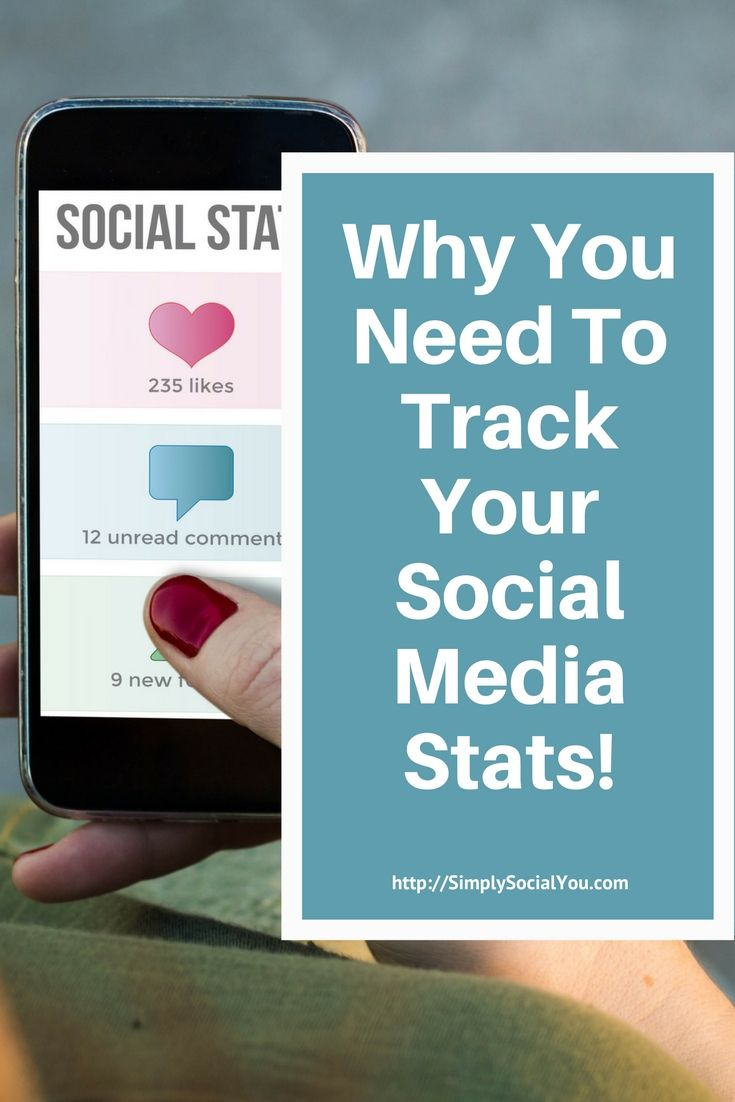 Why keeping track of social media stats matters! | social media stats | social media marketing | social media traffic | http://simplysocialyou.com/blog/track-social-media-stats/