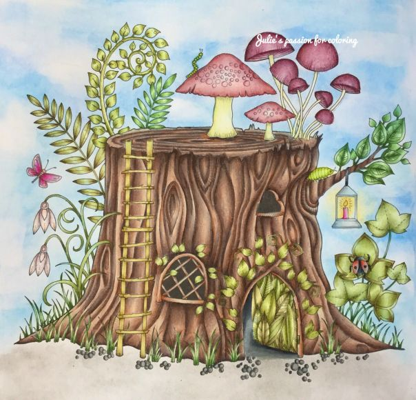 Enchanted Forest By Johanna Basford Enchanted Forest Coloring Johanna Basford Coloring Book Johanna Basford Enchanted Forest