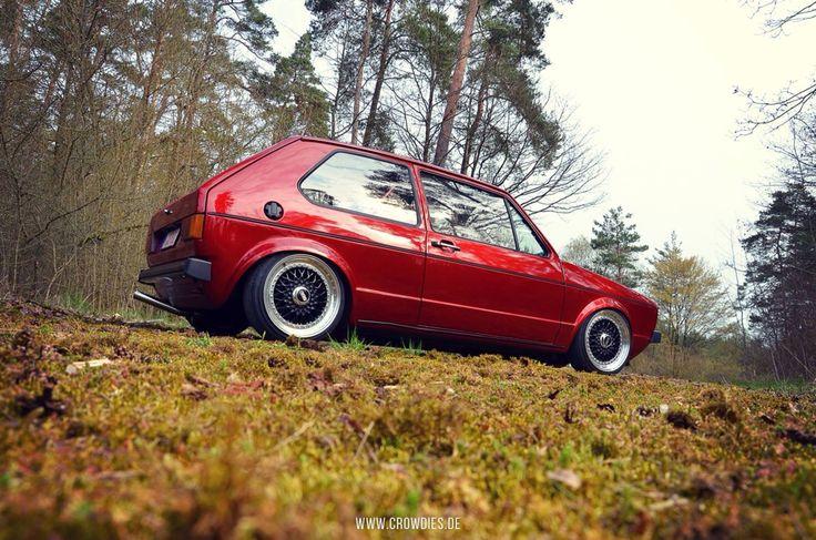 VW Golf 1 - VW Classic www.crowdies.de
