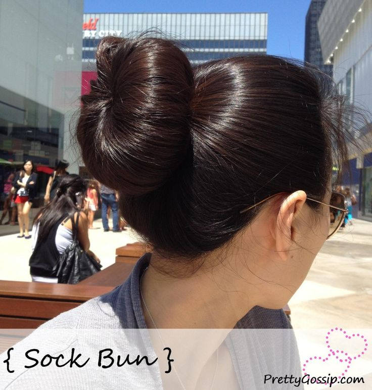 DIY: Make a Sock Bun by Pretty Gossip ( http://wp.me/p2pDDx-1kv )