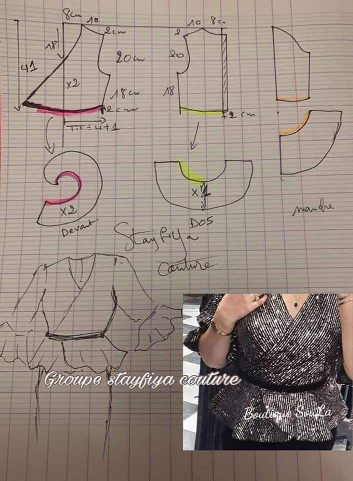 Epingle Sur Patrons Couture Robe