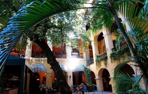 Hotel El Convento Courtyard San Juan Puerto Rico