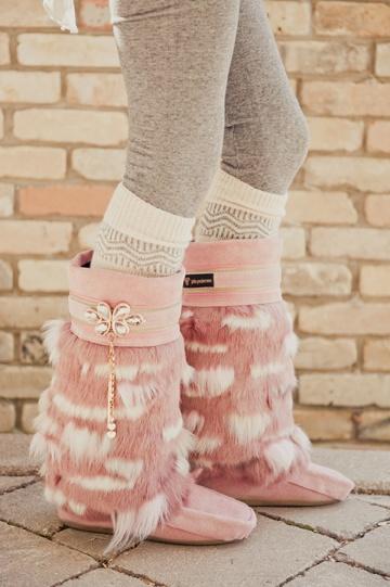 Yoko's Boots (photo by Erin Alexander Photography). Urban Mukluks by Julie Pedersen.
