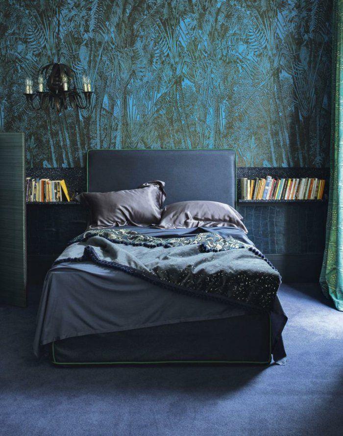 Wandtapeten Schlafzimmer : wandtapeten ideen wohnidee schlafzimmer tapeten