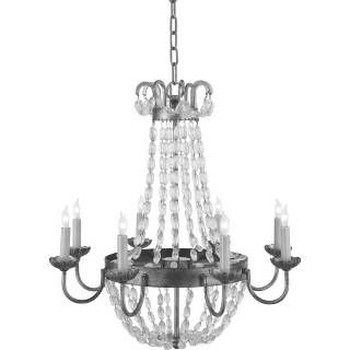 Check out the Visual Comfort CHC1426 Chart House 6 Light Medium Paris Flea Market Chandelier priced at $1,007.90 at Homeclick.com.
