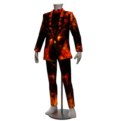 Ikon Blazing Fire Outfit