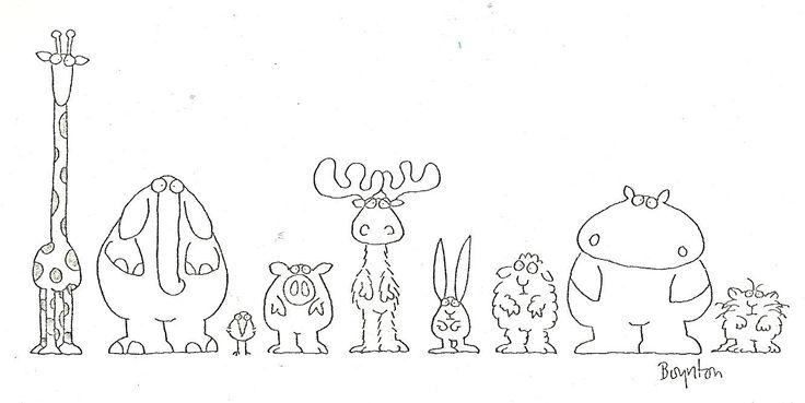 sandra boynton characters