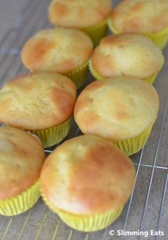 Lemon Muffins | Slimming Eats - Slimming World Recipes