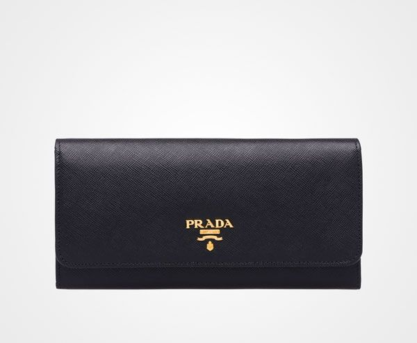 Prada Black Wallet