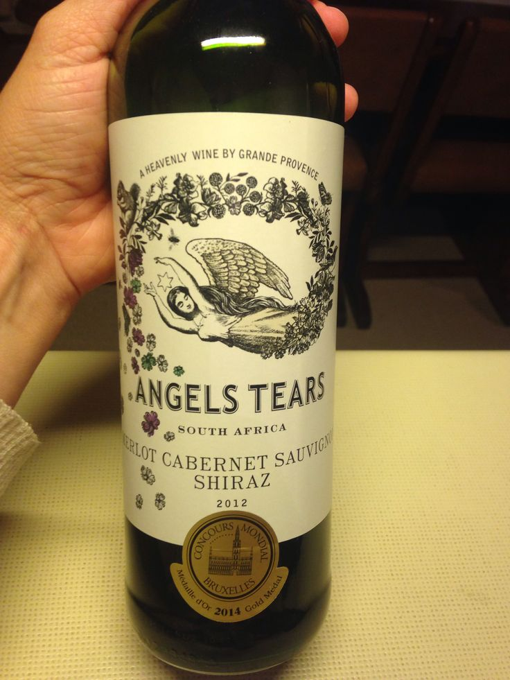 Angel's Tears, Paarl South Africa, Blend