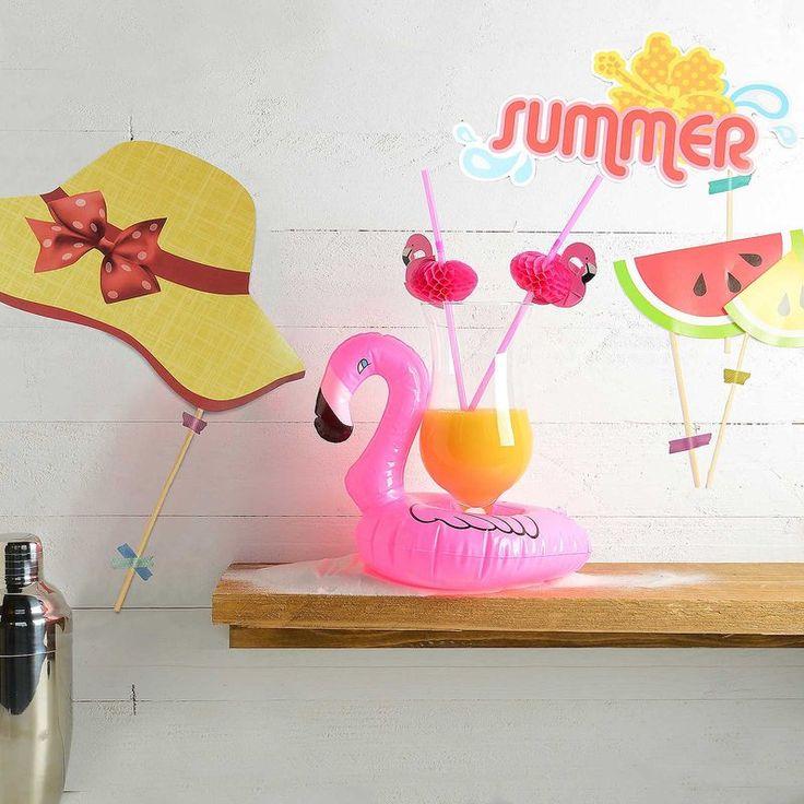ein s es geschenk set geschenkidee sommer flamingo. Black Bedroom Furniture Sets. Home Design Ideas