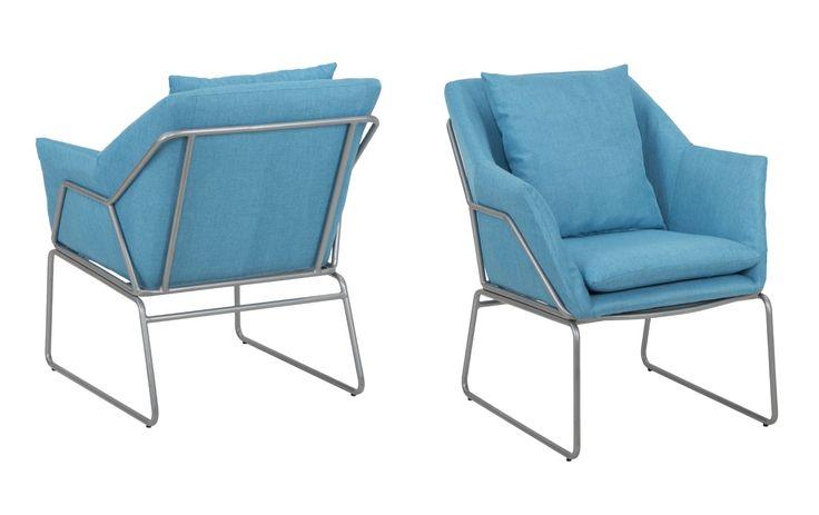 #MauroFerrettiSrl 141788000C POLTRONA CONFORT CELESTE CM 67,5X73X80 (ALTEZZA SEDUTA CM 46) #mauroferrettisrl #home #homedecor #decor #casa #arredo #arredamento #decorazione #poltrona #confort #iron #metal #color #blue #modern #elegant #confortable #newitem #newlook #italiansdoitbetter