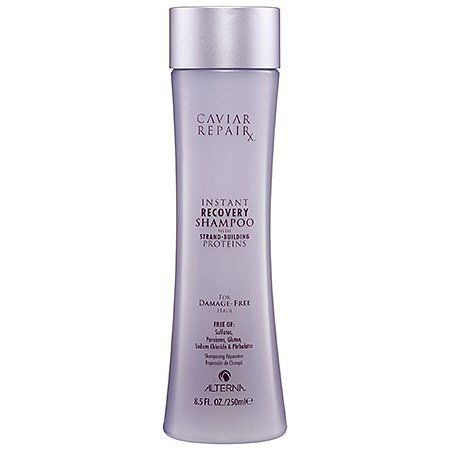 Alterna Caviar Repair RX Instant Recovery Shampoo-8.5 oz. by Alterna. Save 21 Off!. $25.35. A restorative, sulfate-free shampoo that transforms severely damaged hair, intensely nourishing & repairing each individual strand. Key product benefits are derived from Strand-Building Proteins, which target damage at the microscopic level, working to repair each individual strand of hair. Color Hold: A proprietary color protection complex found in all Alterna products that provides the highest level…