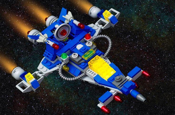 Final Spaceship Image   by sixfootfivelegofan