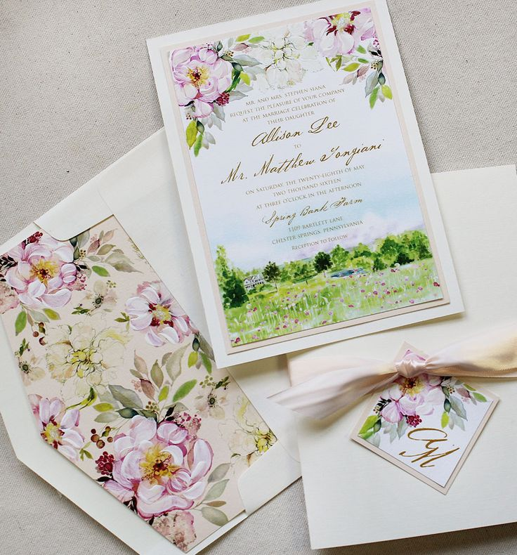 Allison S Romantic Floral and Landscape