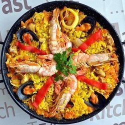Spanish paella recipe!! The most famous Spanish Tapas dish! Discover how to cook…