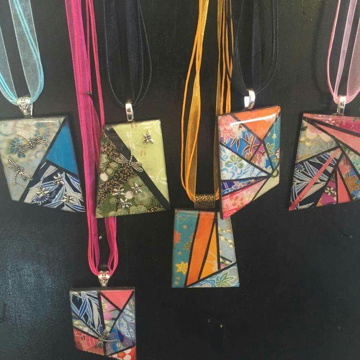 Patchwork pendants