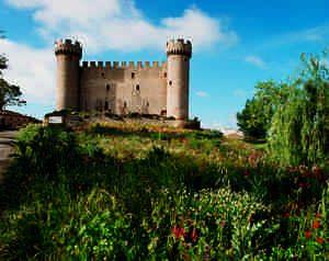 Castillo de Olmillos de Sasamón (Burgos)