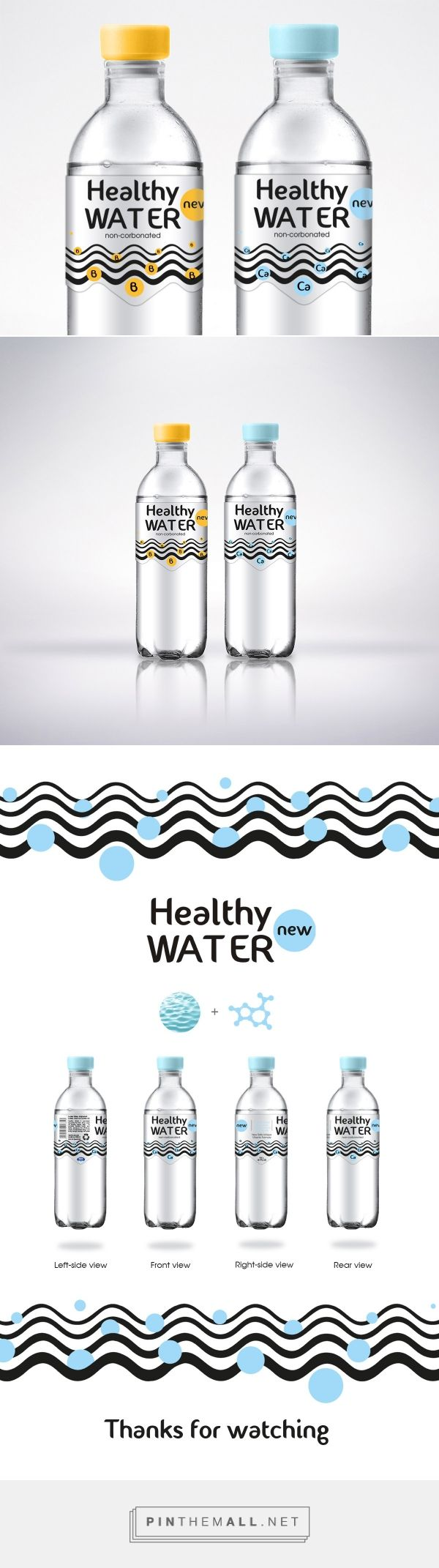 The Best Packaging | Healthy Water – вода (Концепт) - created via http://pinthemall.net