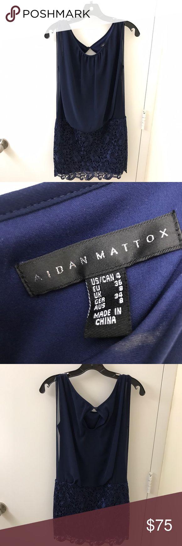 Aidan Mattox Dress Like new, worn twice | size 4 Aidan Mattox Dresses Mini