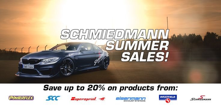The Schmiedmann Summer Sales are on!   Buy BMW spare parts at the world's best prices! Worldwide shipping at low prices. Everything BMW & MINI!
