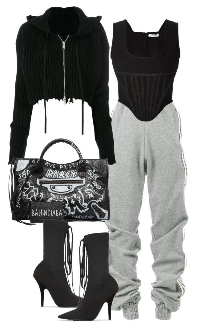 """Season 16"" by milla-fall ❤ liked on Polyvore featuring Y/Project, Unravel, Givenchy, Balenciaga and Yeezy by Kanye West"