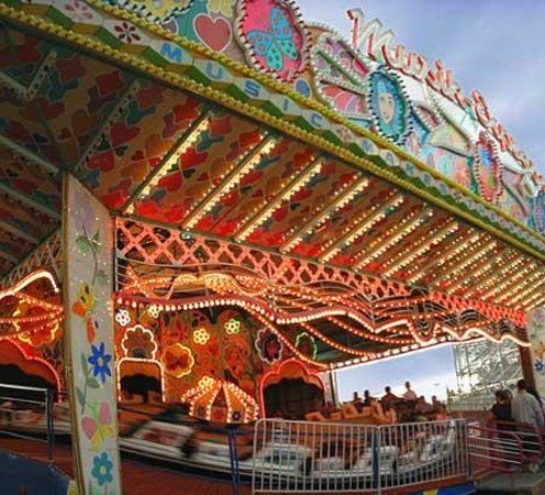 Cliff's Amusement Park, Albuquerque, New Mexico