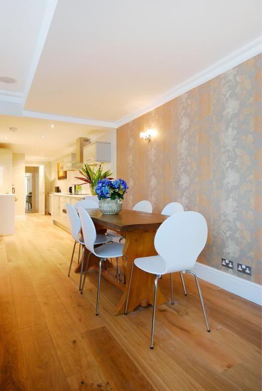 Dining room basement flat London SW5 #cutlerandbond #basementflat #gardenflat #londonproperty