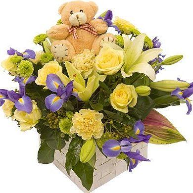 Flowers Online - Baby Love Flower Gift  ♥ Flower Delivery Australia Wide ♥