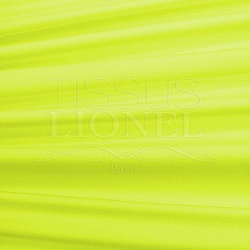 lycra brillant jaune fluo